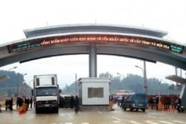 Kinh doanh Xuất khẩu qua biên giới giáp Lào, Campuchia khá chậm